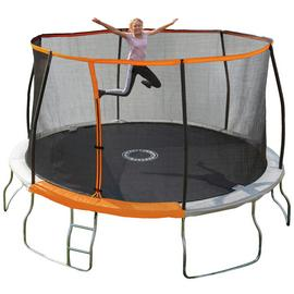 Sportspower 14ft Outdoor Kids Trampoline with Enclosure