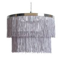 Argos Home Fringe 2 Tier Easy Fit Shade