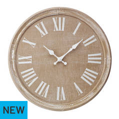Argos Home Wooden Clock
