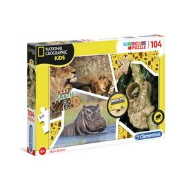 Clementoni National Geographic 104 piece puzzle