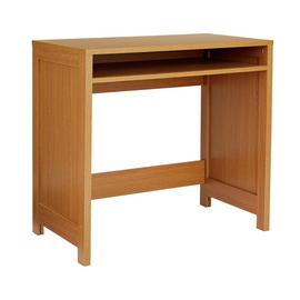 Argos Home Conrad Signature Office Desk - Oak Effect