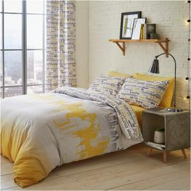 Catherine Lansfield Cityscape Bedding Set - Double