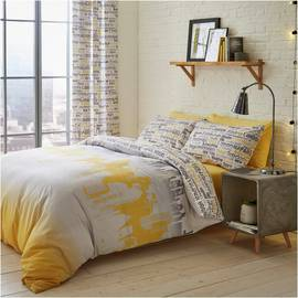 Catherine Lansfield Cityscape Bedding Set - Kingsize