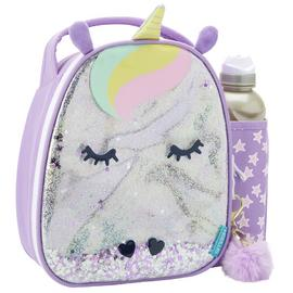 Smash Glitter Unicorn Lunch Bag & Bottle