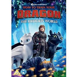 How to Train Your Dragon 3: The Hidden World DVD