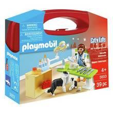 Playmobil 5653 City Life Small Vet Carry Case