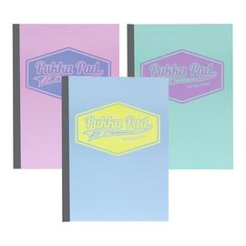 Pukka Pads Pastel A4 400 Page Refill Pad - 3 Pack
