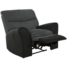 Argos Home Harry Recliner Fabric Chair - Charcoal