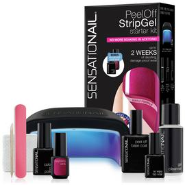 SensatioNail Peel Off Strip Gel Starter Kit