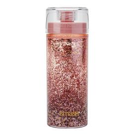 Smash Rose Gold Glitter Lava Bottle - 375ml