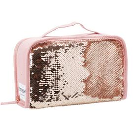 Smash Sequin CC Lunch Bag - Rose Gold