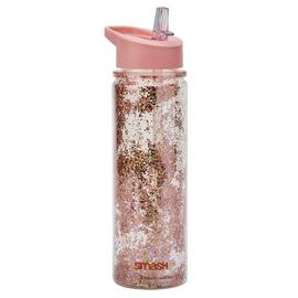 Smash Rose Gold Glitter Bottle - 500ml