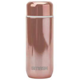 Smash Rose Gold Stainless Steel Coffee Flask - 200ml