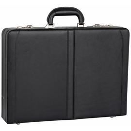 it Luggage Leather Briefcase - Black