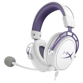 HyperX Cloud Alpha Xbox One, PS4, PC, Headset White & Purple