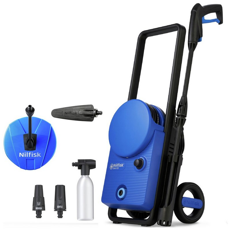 Nilfisk Core 125 PCA Car & Home Pressure Washer - 1400W from Argos