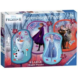 Disney Frozen 2 Four Large Shaped Puzzles
