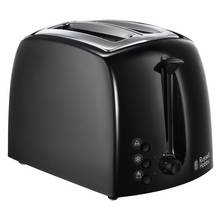 Russell Hobbs 21641 Textures 2 Slice Toaster - Black