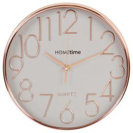 Hometime Wall Clock - Copper & Grey