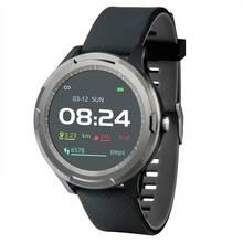 Nuband Optim Smart Watch - Black/Silver