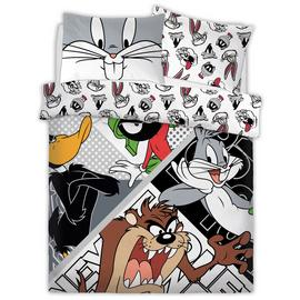 Looney Tunes Looney Crew Bedding Set - Double