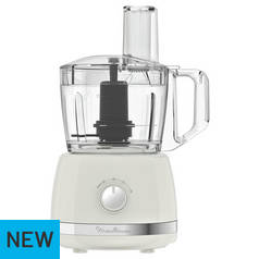 Moulinex 7211003448 Food Processor - White