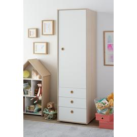 Argos Home Camden 1 Door 3 Drawer Wardrobe