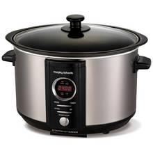 Morphy Richards 3.5L Digital Sear & Stew Slow Cooker - Steel
