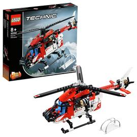 LEGO Technic Rescue Toy Helicopter and Plane Playset- 42092