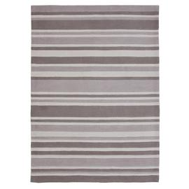 Argos Home Neutral Stripe Rug - 120x160cm