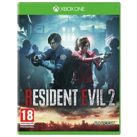 Resident Evil 2 Remastered Xbox One Game.