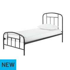 Argos Home Pippa Dark Grey Single Bed Frame