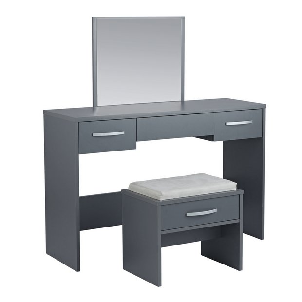 Buy Argos Home Hallingford Grey Dressing Table Dressing Tables Argos