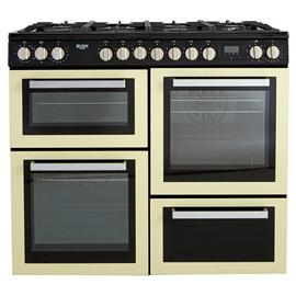 Bush BRC100DHPC 100cm Dual Fuel Range Cooker - Cream