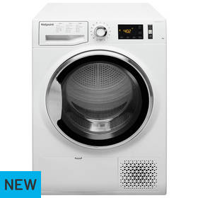 Hotpoint NTM1182XB 8KG Heat Pump Tumble Dryer - White