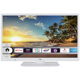 Bush 24 Inch Smart HD Ready TV / DVD Combi - White