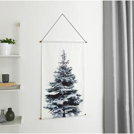 Argos Home Christmas Noir Tree Wall Hanging