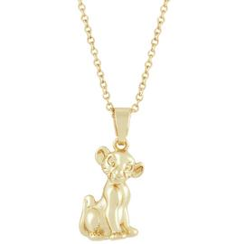 Disney Lion King Carded Pendant Necklace