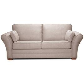 Argos Home New Thornton 3 Seater Fabric Sofa Bed - Old Rose