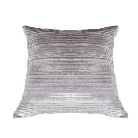 Argos Home Velvet Cushion - Silver