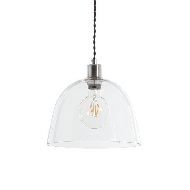 best service 0e2ad 8a132 Buy Argos Home Kanso Glass Pendant Light | Ceiling lights | Argos