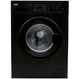 Bush WMNB712EB 7KG 1200 Spin Washing Machine - Black