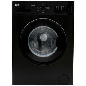 Bush WMNB712EB 7KG 1200 Spin Washing Machine - Black Best Price, Cheapest Prices