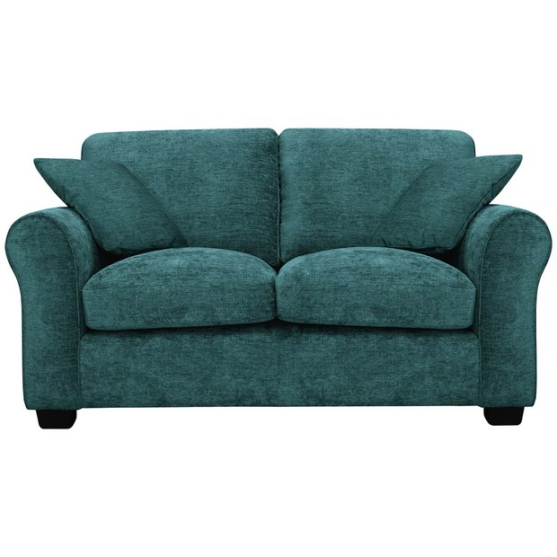 Pleasant Buy Argos Home Tammy 2 Seater Fabric Sofa Teal Sofas Argos Inzonedesignstudio Interior Chair Design Inzonedesignstudiocom