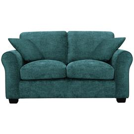 Argos Home Tammy 2 Seater Fabric Sofa - Teal