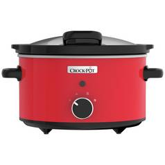 Crock-Pot 3.5L Hinged Lid Slow Cooker - Red