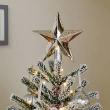 Argos Home Winters Cabin Mercury Star Tree Topper