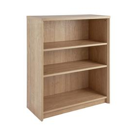 Argos Home Dalen Short Bookcase - Oak Effect