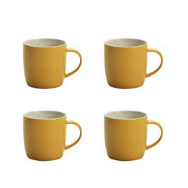 Argos Home Set of 4 Mugs - Yellow
