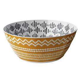Argos Home Global Monochrome Melamine Salad Bowl